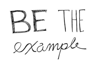 be-the-example